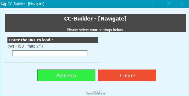 CC-Builder / Navigate