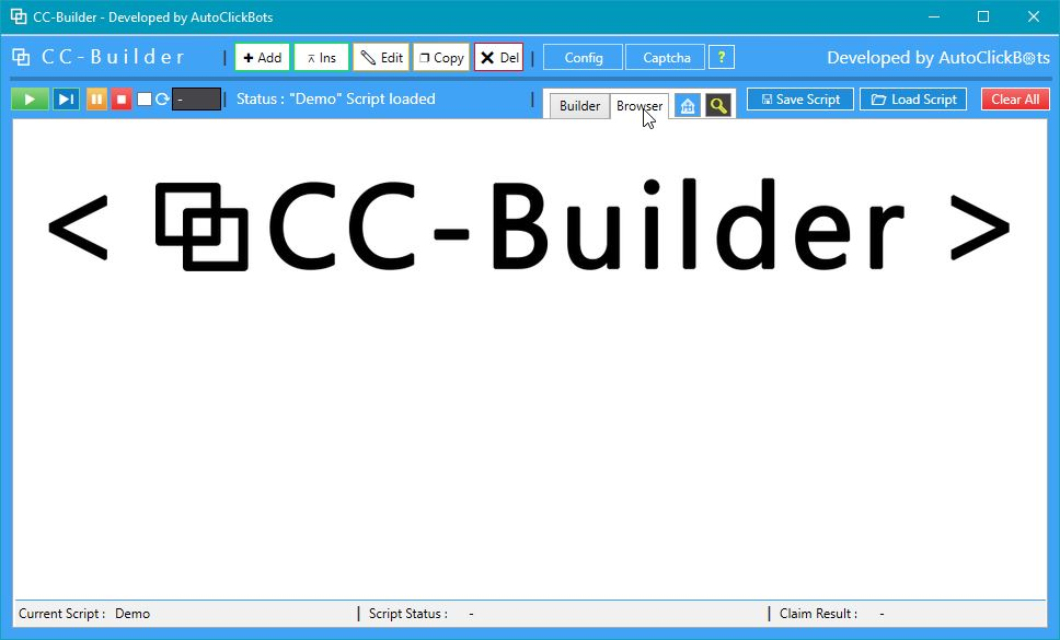 CC-Builder / Browser View