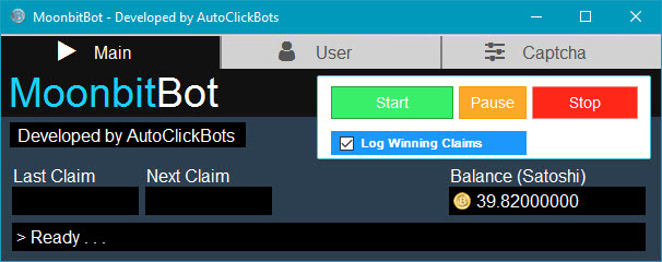 MoonbitBot / Main User Interface