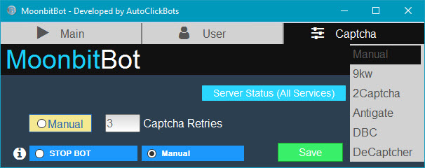 MoonbitBot / Captcha Settings
