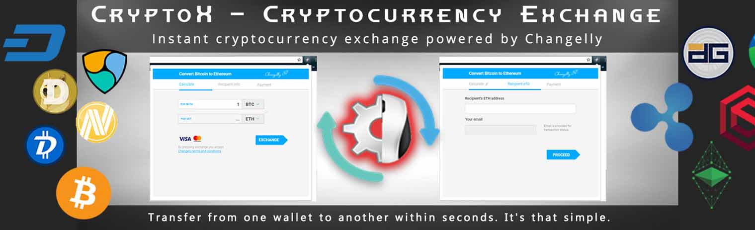 CryptoX - Cryptocurrecy Exchange