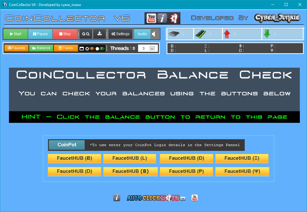 CoinCollector / Balance Screen