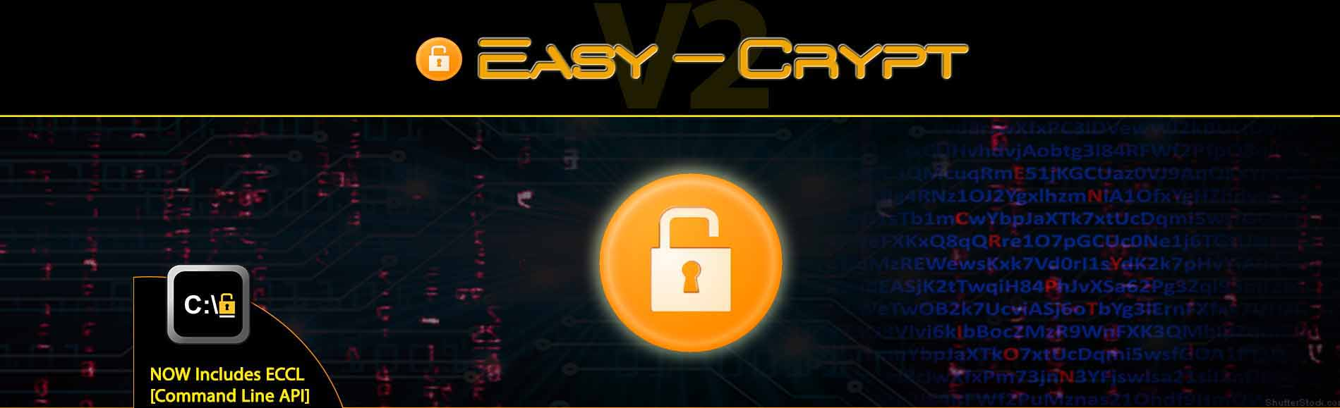 Easy-Crypt V2 - Includes ECCL [CMD API]
